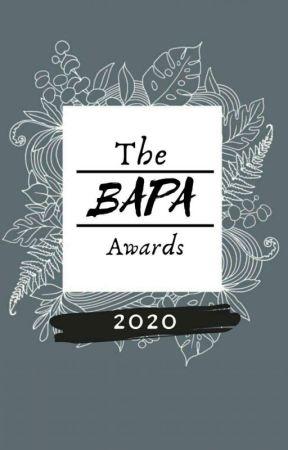 The BAPA Awards 2020 (On Hold) by TheBAPACommunity