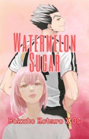 Watermelon Sugar - Bokuto Kotaro X OC by saltysenpais