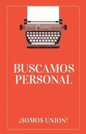 Buscamos personal (ABIERTO) by Esquad_Adam