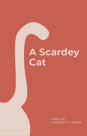 A Scardey Cat by larasatylaras26