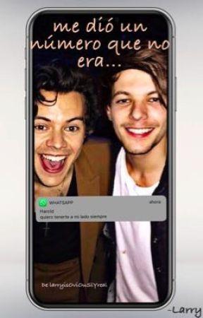 Me dió un número que no era~ Textos Larry by larryisOviOuSlYreal