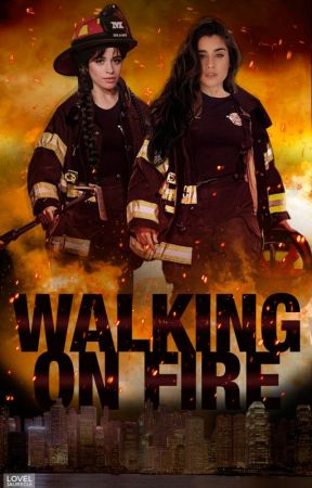 Walking on Fire by switch5hearts