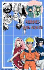 Heroes and Ninja by johnnysratwig