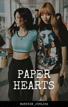 • paper hearts • by Manokim_jenlisa