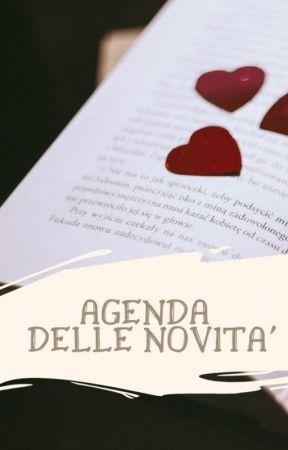 AGENDA DELLE NOVITA' by Melissami91