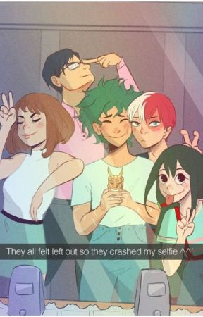 BNHA groupchat ft. me by FluffyCottonZ