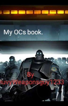My OC. Book. by HuvyWeaponsguy1233