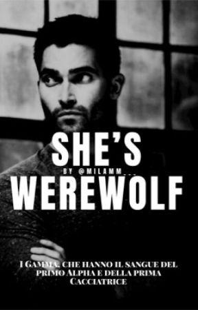 SHE'S WEREWOLF   DEREK HALE (sospesa) by milamm___