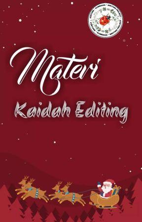 MATERI KAIDAH EDITING by Si_Kumbang_Kecil