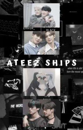 ATEEZ SHIPS by eibisinoona