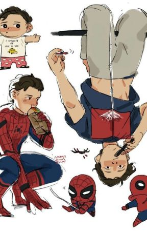 Spiderson x The Avengers by meganwrites5