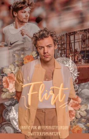 Flirt -[larry oneshot] by ffeministylinson