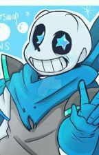 Smiling is a Coverup(Depressed Blueberry sans) by BruhItsUni