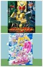 Kamen rider Agito and Heartcatch Pretty Cure by WafiqAkmalRajaNazeli