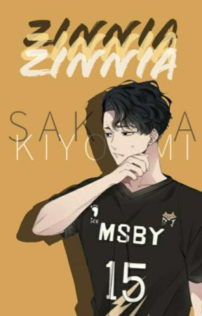 𝙯𝙞𝙣𝙣𝙞𝙖 | Sakusa Kiyoomi by vyreia