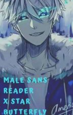 Male Human Sans Reader x Star Butterfly by Victor_TheRiper