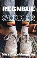 Regnbue sokker (gxg) by Miss_Angeldaughter