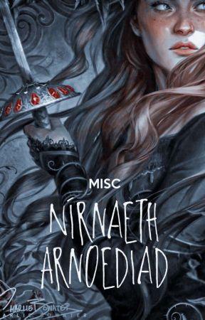 Nírnaeth Arnoediad ━ 𝗺𝗶𝘀𝗰 by juduxrte