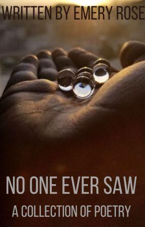 no one ever saw by EmeryTheNerd