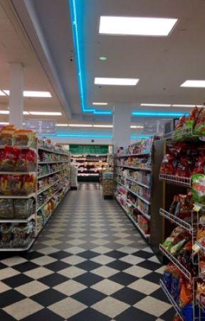 Grocery Store HOTTIE    a Solangelo Soulmate AU by ao3isbetterr