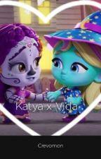 Vida X Katya (Katida) by Crevomon2