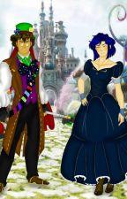 Coraline x Alice in Wonderland  by Evenceflux18