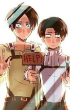 Levi and Eren react to Ereri/Riren fanart by yaoiwriterx