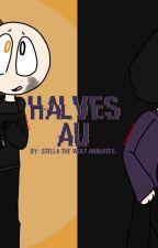 Halves AU - WDY AU - Wii Deleted You AU by StellaTheWolfAnimate