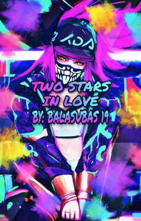 Two Stars in love (A K/DA Fanfic) by Balasubas19