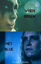When green met blue || Clexa AU by Pseudo_Wariatka