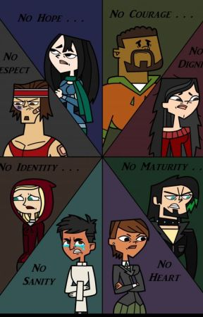 Can they be redeemed? (Author x Total Drama) by Dvidrvai