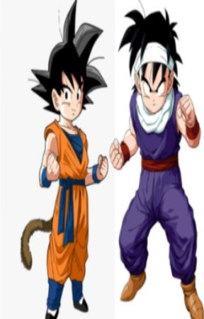 The Powerful Hybrid Saiyan Duo by InstructorPopo