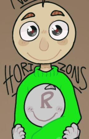 New Horizons | a Baldi x Reader Story by SarahDaWolf