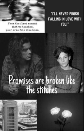 Promises are broken like the stitches -l.s. by secretlarry28