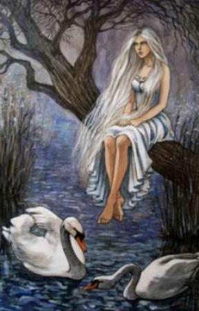 Dove;The swan maiden by _mkthemodel