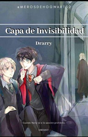 Capa de Invisibilidad   DRARRY   by merosdeHogwarts2