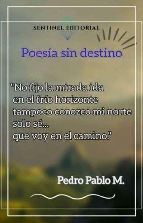 Poesía sin destino by pedropablomelian