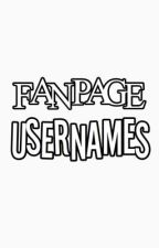 Fanpage Usernames by fruitsh00t