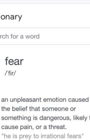My fears. by yourmomissupergay