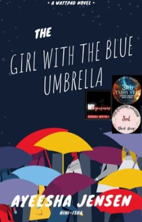 The girl with the blue umbrella||✔  by Hihi-isha