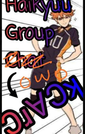Haikyuu Group Ɔɹ∀Ɔʞ  by Uncreativity101