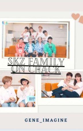 SKZ Family On Crack ☑ by Gene_Imagine