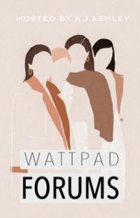 Wattpad Forums cover