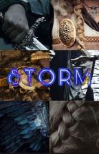 storm  -  jason grace (ONE) by leighmmarie