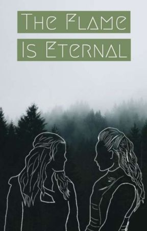 The Flame Is Eternal by clexa_kru_green_blue
