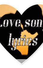 Tagalog Love songs lyrics  by Bhabha2019