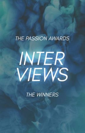 INTERVIEWS | The Winners by thepassionawards