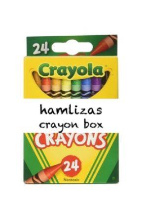 Hamlizas crayon box  by peanutbutterchildren