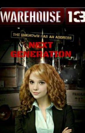 Warehouse 13 Next generation.  by Mikumiku17