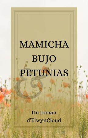 Mamicha, bujo et pétunias by ElwynCloud
